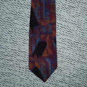 Allen Solly 100% silk tie, EUC